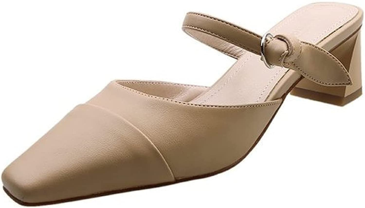 Fresno Mall QSCQ Women Mule Shoes Open Comfortable Adjustabl New product! New type Closed Back Toe