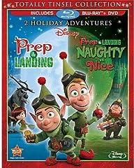Prep & Landing / Prep & Landing: Naughty vs. Nice - Blu-ray + DVD Brand New