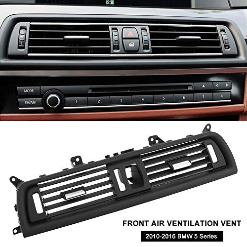 Ruien Front Air Ventilation Vent, Interior Console Center Grille Dashboard AC Ventilation Vent for 2010-2016 BMW 5 Series(520/523/525/528/530/535/550/ F10/ F18) OEM 64229166885