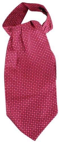 Knightsbridge Neckwear Pink Squares Silk Cravates de