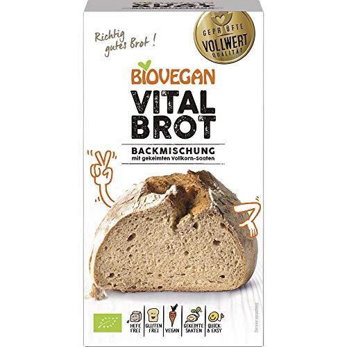 Biovegan Bio Brotbackmischung Vital, BIO (2 x 315 gr)