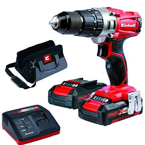 Einhell TE-CD 18/2 Li-I Kit 18 V Power X-Change Cordless Hammer Drill