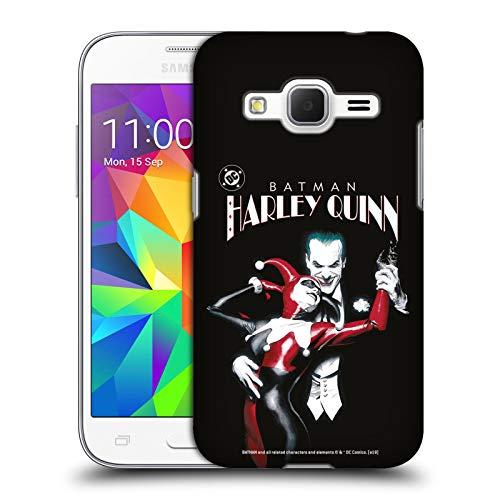 Head Case Designs Ufficiale Joker Batman: Harley Quinn 1 Arte Personaggi Cover Dura per Parte Posteriore Compatibile con Samsung Galaxy Core Prime