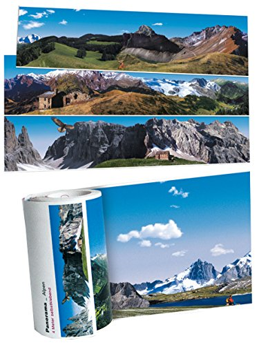 selbstklebende Fototapeten / Panoramaborten, verschiedene Motive (Alpen)