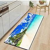 Ocean Beach Scenic Küche Teppich Home Eingangstürmatte
