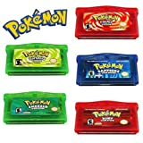 Pokemon Gameboy Advance 5 Pack Reproduction (Game Only)