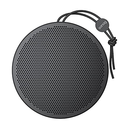 Altavoces Bluetooth 5.0, IPX5 Waterproof Altavoz Portatil, Estereo, al Aire Libre, hogar, Fiesta, Viajes con HD Audio y Manos Libres, USB, Llamadas Manos Libres y TF,Black