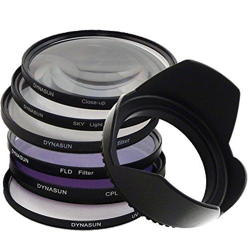 DynaSun Filtro Ultra Violetto 67mm Polarizzatore Circolare Star Close Up Skylight FLD 67 mm Paraluce