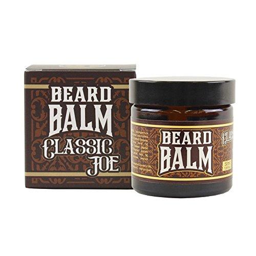 HEY JOE - Beard Balm Nº1 CLASSIC JOE 50ml | Balsamo para barba 50ml con argán, jojoba, coco y manteca de Karité. Aroma a ESPLIEGO.