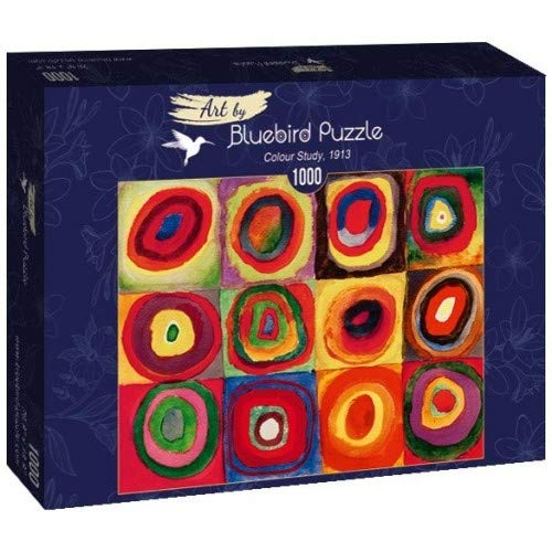 Bluebird Puzzle Kandinsky Studio del color 1000 piezas