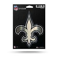 NFL Rico Industries Die Cut Metallic Sticker, New Orleans Saints