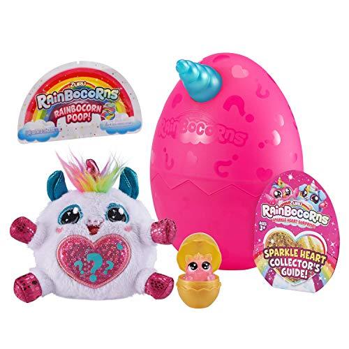 Rainbocorns Sparkle Heart Surprise Mystery Egg Plush by ZURU - Unicorn