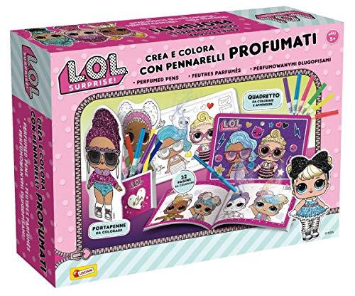 Lisciani Giochi- LOL Surprise Crea e Colora con Pennarelli Profumati, Multicolore, 75065