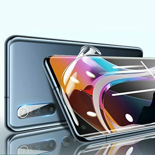 【3枚セット】Xiaomi Mi 10/ Mi 10Pro フィルム (6.67インチ)【指紋認証対応】 独創TPU素材 99%高透過率 Xiaomi Mi 10/ Mi 10Pro フィルム 耐衝撃 傷自動修復技術 気泡消え 湾曲対応 全面保護
