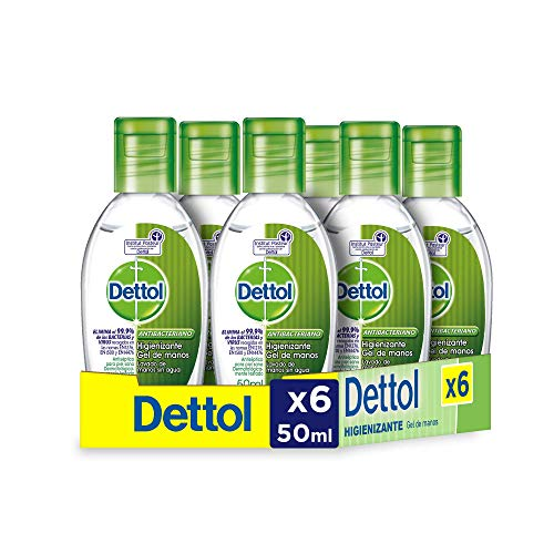 dispensadores de gel desinfectante de bolsillo Marca Dettol