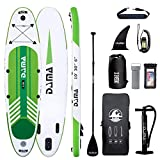 """DAMA Inflatable Stand Up Paddle Boards, 10'×30""""×6"""" Ultra-Light, Camera Mount Included with Stand..."""