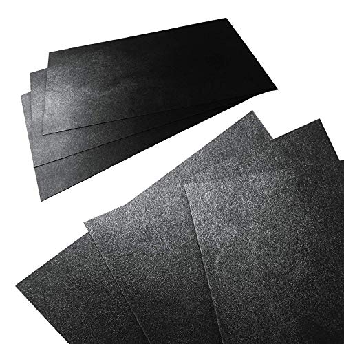 3 Pack 12 x 24 x 062 ABS Plastic Sheets Moldable Plastic Sheets Great for DIY Projects High Tensile and Impact Strength Plastic Made in USA…