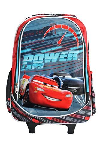 Disney-Cartable à roulettes Cars Disney-Rouge-garçon