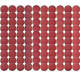 S SATC 100 PCS PSA Sanding Discs 6 Inch Adhesive Sanding Disc Backed 60-1000 Grits Aluminum Oxide Self Stick Sandpaper for Random Orbital Sander