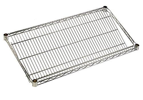 ARCHIMEDE système composable Étagère incliné, métal, chromé, 121 x 46 x 10 cm