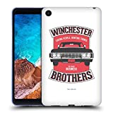 Official Supernatural Winchester Brothers 2 Vectors Soft Gel Case Compatible for Xiaomi Mi Pad 4