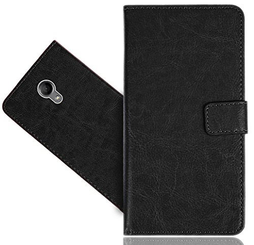 Wiko Robby Handy Tasche, FoneExpert® Wallet Hülle Flip Cover Hüllen Etui Hülle Premium Ledertasche Lederhülle Schutzhülle Für Wiko Robby
