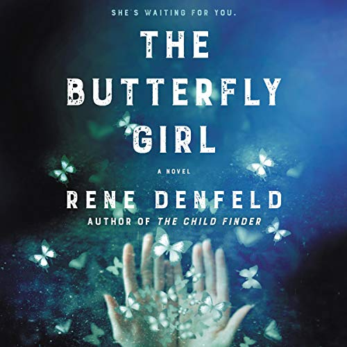 The Butterfly Girl audiobook cover art