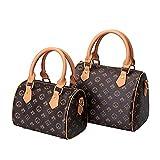Jaipur Home 2021 Weibliche Einkaufstasche Handtaschen , Bedruckte Eimer Einfache Frauentasche UmhäNgetasche Damen S Brown