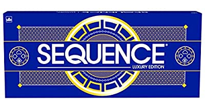 Sequence Luxury Edition - Stunning Set with Deluxe, Cushioned, Roll-Flat Game Mat - Amazon Exclusive