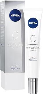 NIVEA PROFESSIONAL Vitamin C crema de noche antiarrugas crema de cara con vitamina C y efecto antiedad crema facial ant...