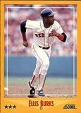 1988 Score Baseball Rookie Card #472 Ellis...