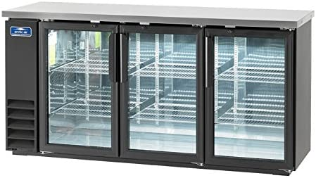 Arctic Air ABB72G Glass 73 Inch 3 Door Back Bar Refrigerator 115v product image