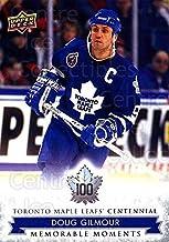 (CI) Doug Gilmour Hockey Card 2017-18 Toronto Maple Leafs Centennial (base) 190 Doug Gilmour