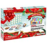 WloveTravel Christmas Advent Calendar 2020 Holiday Surprises for Kids 24Pcs Fridge Magnets Christmas Countdown Toys Decorations