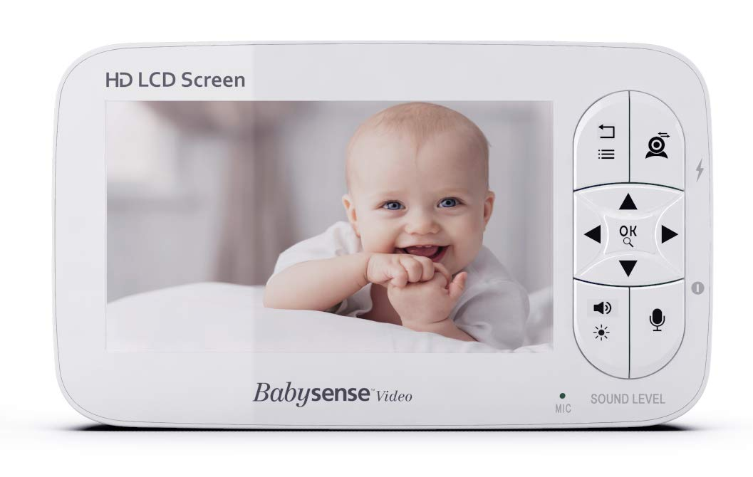 Parent Unit for Video Baby Monitor V65 by Babysense
