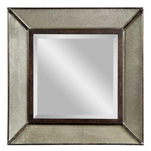 Bassett Mirror Edinborough Wall Mirror, Antique -