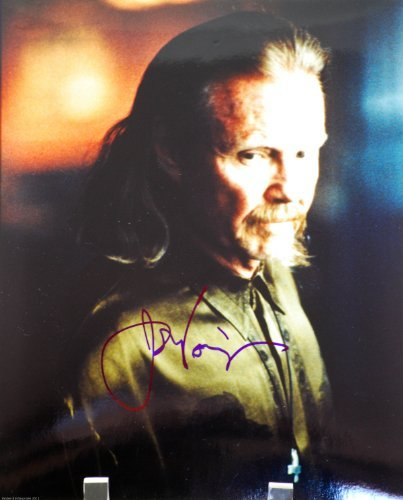 Jon Voight In-Person Autographed 8x10 Color Photograph - Signed in Blue Sharpie - Actor/Director - Midnight Cowboy/Catch 22 / National Treasure/Ali / 24 / Transformers/Holes - Rare - Collectible