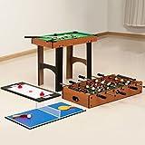Zoom IMG-2 homcom tavolo multi gioco 4
