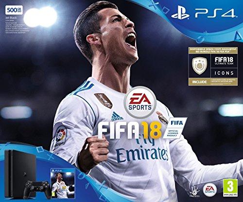 PlayStation 4 500 GB + FIFA 18...
