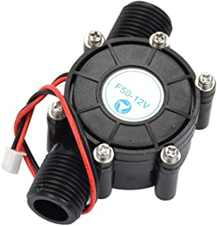 Sydien DC12V 10W Water Turbine Generator Hydroelectric DIY LED Power Micro-Hydro Water Charging Tool (F50-12V)