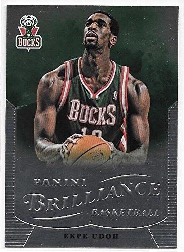 Ekpe Udoh 2012-13 NBA Panini Brilliance Milwaukee Bucks Card #124