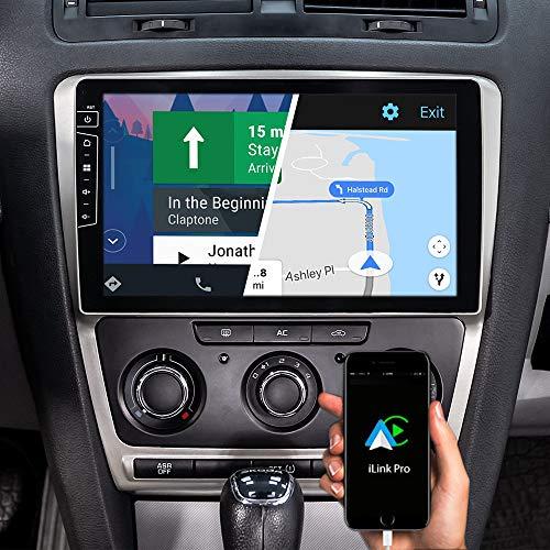 DYNAVIN Autoradio Navi für Skoda Octavia II 2004-2013, 10,1 Zoll OEM Radio mit Android Auto, Bluetooth, DAB+ Ready, USB: DX-SK-DF63 Flex