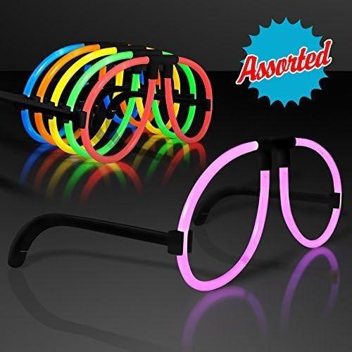 la calidad primero los consumidores primero Glow Stick Stick Stick Glasses in Assorted Colors (Set of 12) by FlashingBlinkyLights  El nuevo outlet de marcas online.