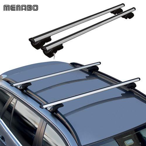 Dozer 120 cm Barres Porte Colis Dacia Duster III 18 > Voiture Universel Toit Railing étriers Porte-Bagages Porte Bagages