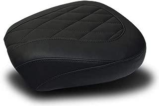 Mustang Black Wide Tripper Passenger Seat with Diamond Stitching