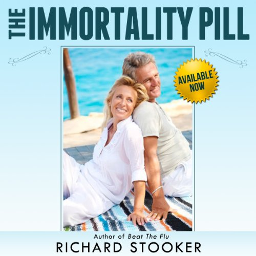 The Immortality Pill audiobook cover art