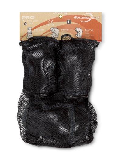 Rollerblade Erwachsene Schützer Pro 3 Pack, Anthracite/Black, XL