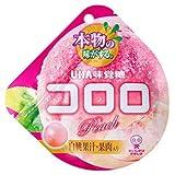 UHA味覚糖 コロロ 白桃 40g×72袋入(6×12)/ケース販売