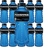 Powerade Blue, Mountain Berry Blast, 20 ounce, Pack of 10