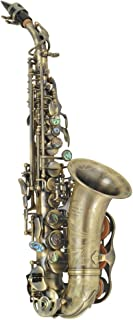 P. Mauriat PMSS-2400DK Soprano Sax, Dark Lacquer with Case